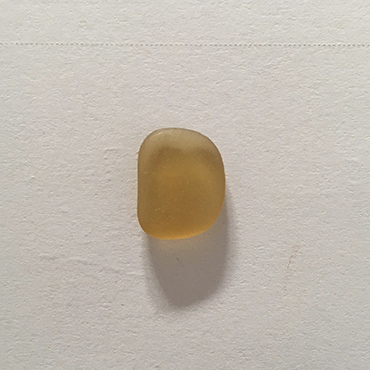 Honey amber seaglass for bespoke piece.