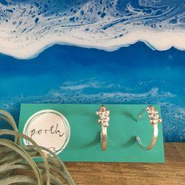 Barnacle Hoop Earrings