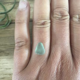Sage green seaglass for custom ring order
