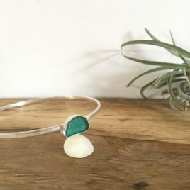 Teal Green Bangle - Gylly