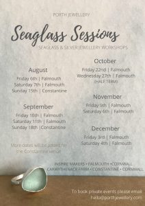 Seaglass Sessions dates 2021